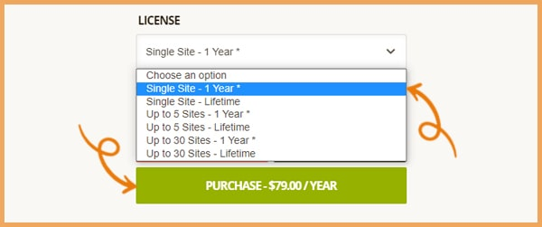 TI WooCommerce wishlist plugin: prices and subscription plans