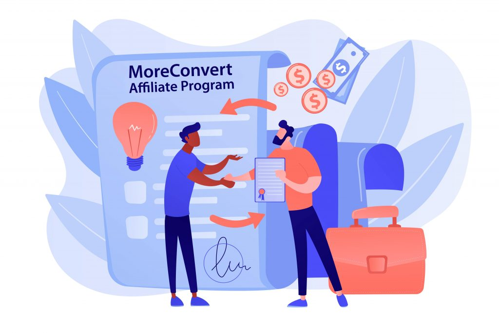 MoreConvert Affiliate Program